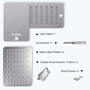 Комплектація Cobo Tablet Plus